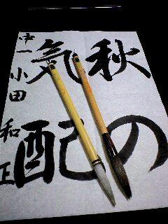 こんな筆を使っています