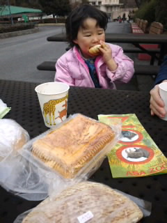 パン屋巡りと動物園