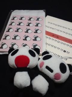 またまたパンダ(≧∇≦)