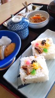 念願の錦寿司定食