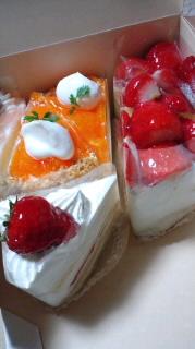 OKASHIMOのケーキ