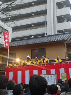 空鞘神社の節分祭