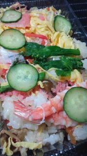 福永商店のチラシ寿司