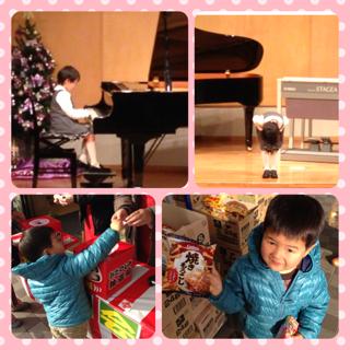 初☆ピアノ発表会