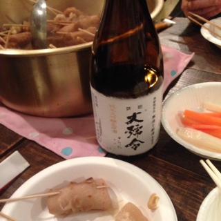 おでんと日本酒で!