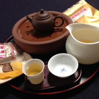 なんちゃって中国茶芸
