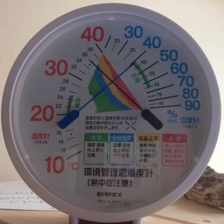 12時半の室温