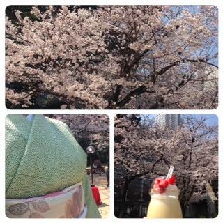春のにわかふぇ☆